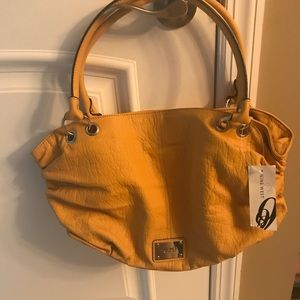 Nine West Shoulder Bag yellow NWT